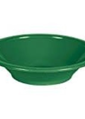 ***Emerald Green 12oz Plastic Bowl 20ct