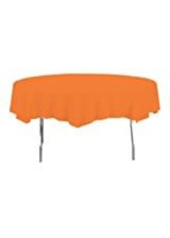 ****Sunkissed Orange Octy Round Tablecover