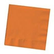 ***Sunkissed Orange 3ply Beverage Napkins 50ct