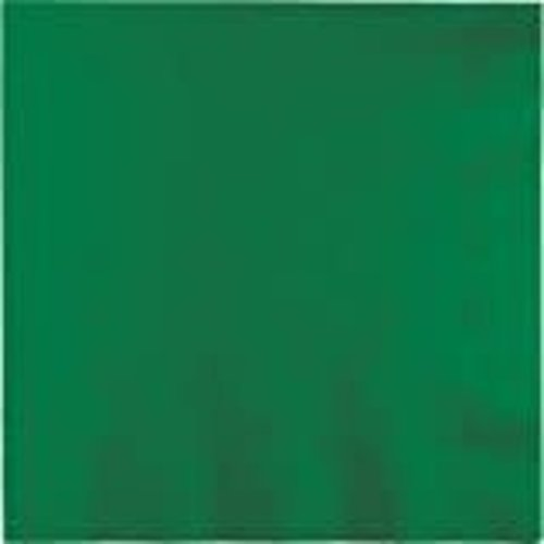 *Emerald Green 3ply Lunch Napkins 50ct