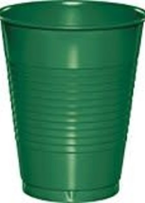 ***Emerald Green 16oz Plastic Cups 20ct