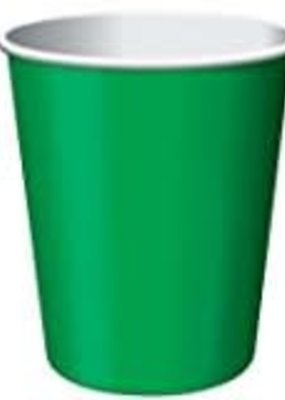 ***Emerald Green 9oz Hot/Cold Cup 24ct