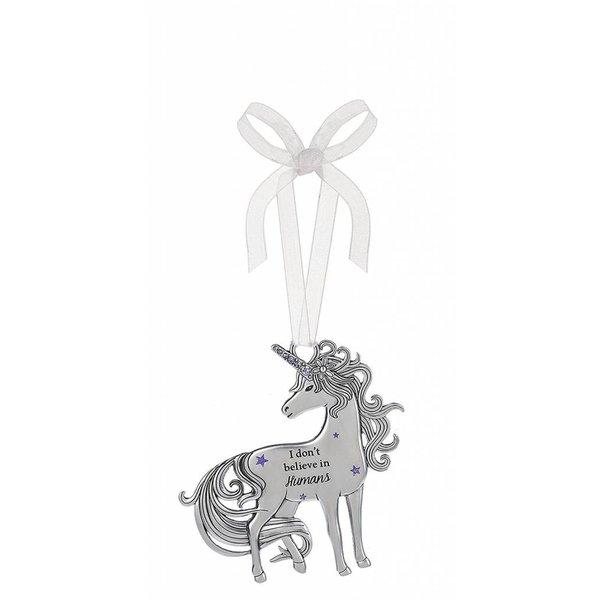 I Don't Believe in Unicorns Ornament