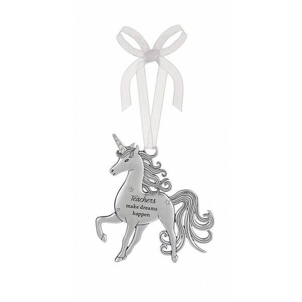 Teachers Unicorn Ornament