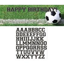 ***Sports Fan Soccer Birthday Banner