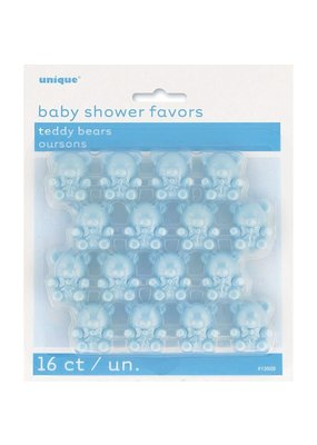 ***Blue Teddy Bear Baby Shower Favors