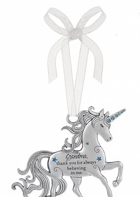 ***Grandma Thank You Unicorn Ornament