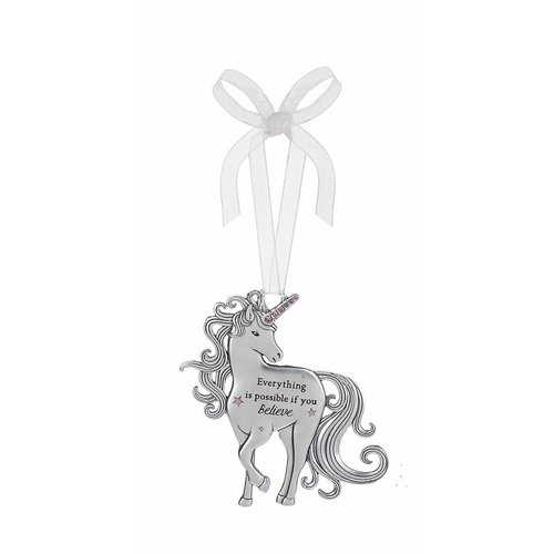 Everything is Possible Unicorn Ornament