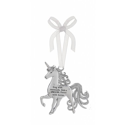 *Sing with Mermaids Unicorn Ornament