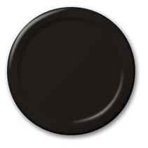 """***Black Velvet 9"""" Paper Plates 24ct"""