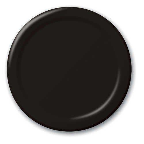 """*Black Velvet 9"""" Paper Plates 24ct"""