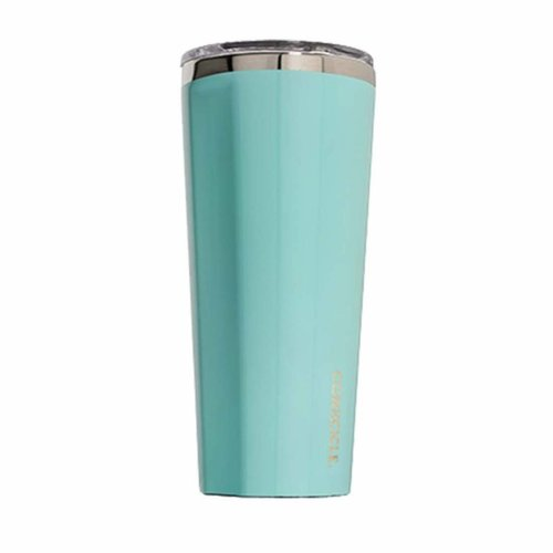 Corkcicle Gloss Turquoise 24oz Tumbler