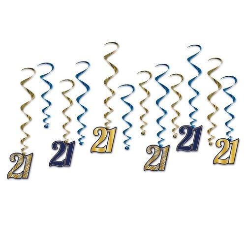 21st Birthday Whirls
