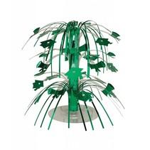 *Emerald Green Grad Mini Cascade Centerpiece