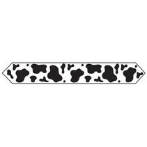 ***Cow Print Table Runner