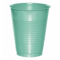 ***Fresh Mint 16oz Plastic Cups 20ct