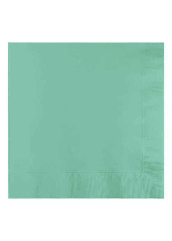 ****Fresh Mint 3ply Lunch Napkins 50ct