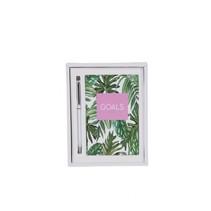 Goals Palm Leaf Notebook Set