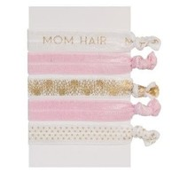 ***Mom Life Elastic Hair Ties