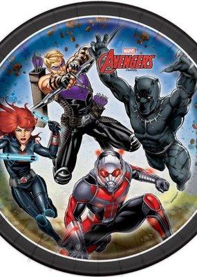 "***The Avengers 7"" Dessert Plates 8ct"