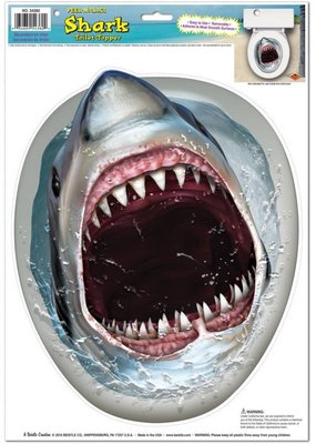 ***Shark Toilet Topper