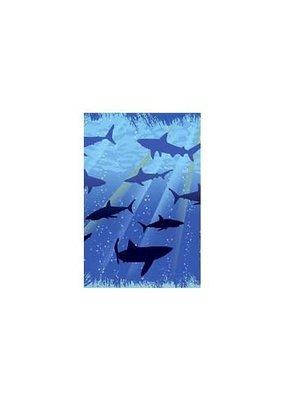 ***Shark Splash Plastic Tablecover