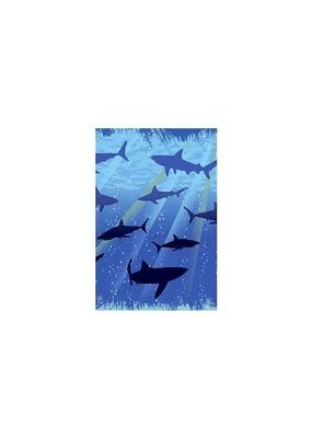****Shark Splash Plastic Tablecover