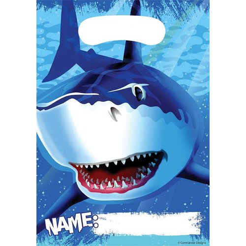 *Shark Splash Loot Bag 8ct