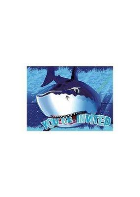 ***Shark Splash Invitation 8ct