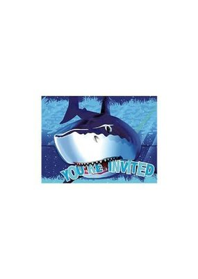 ***Shark Splash Invitation 8ct
