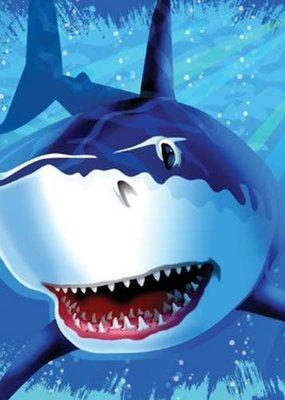 ***Shark Splash Lunch Napkins 16ct