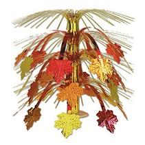***Fall Leaves Cascade Centerpiece 18 inch