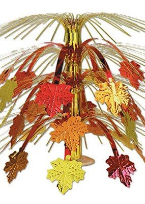 ***Fall Leaves Cascade Centerpiece 18 inch