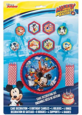 ***Mickey and the Roadster Racer Cake Decorating Kit