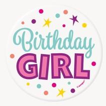 ***Birthday Girl Button
