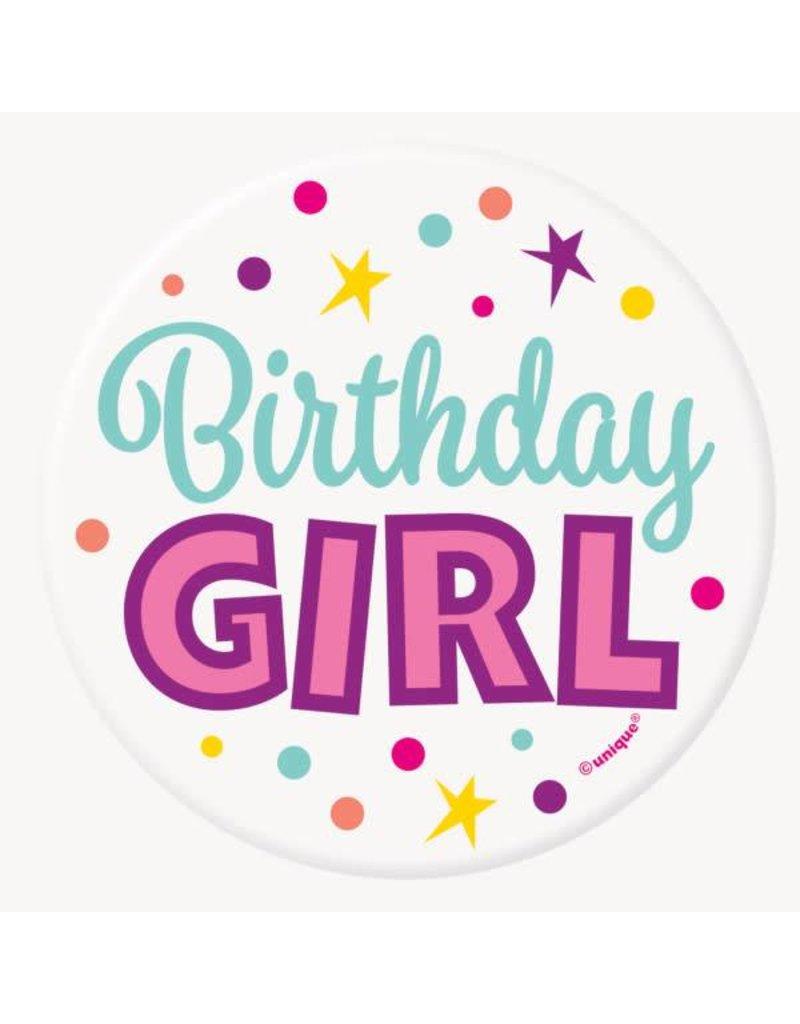 "***Birthday Girl 3"" Button"