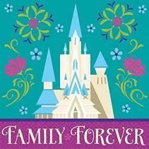 ***Frozen Family Forever Beverage Napkins 16ct