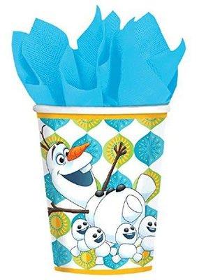 ***Frozen Fever 9oz cups 8ct