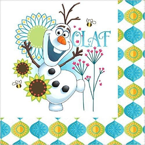 **Frozen Fever Lunch Napkins 16ct