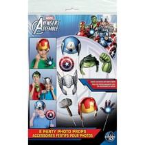 *Avengers Photo Props 8ct