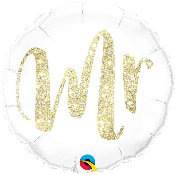 Mr, Gikd Mylar Balloon