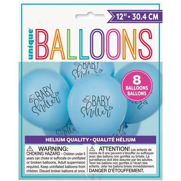 Baby Shower Latex Balloons