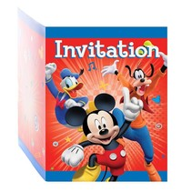 ***Mickey & The Roadster Racer Invitations