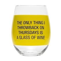 Throwback Thursday Stemless Wine Glass