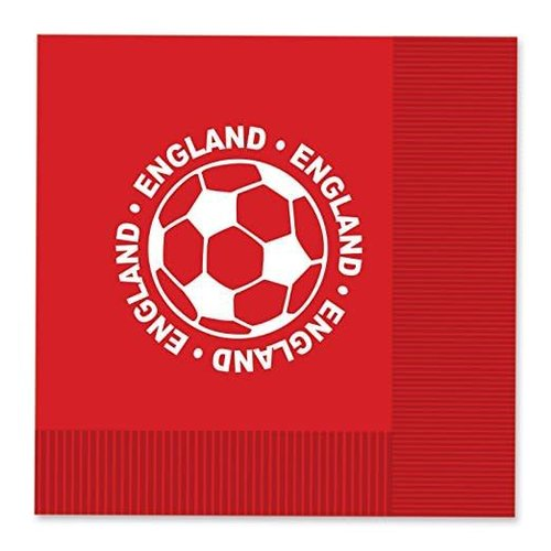 *England Soccer Lunch Napkins