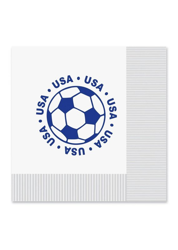 *USA Soccer Lunch Napkins16ct