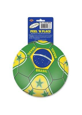 Brazil Soccer Sticker