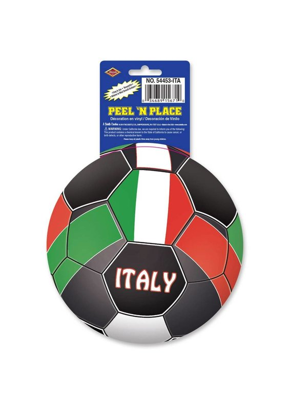 Italy Soccer Stickers