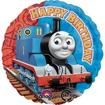 "*Thomas the Tank 18"" Birthday Mylar Balloon"