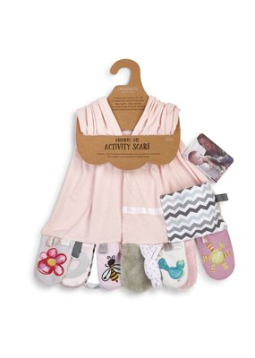 ***Mommy & Me Activity Scarf in Pink